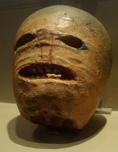 Traditionell geschnitze Halloweenrübe