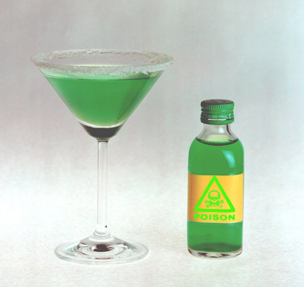 Green Poison Cocktail