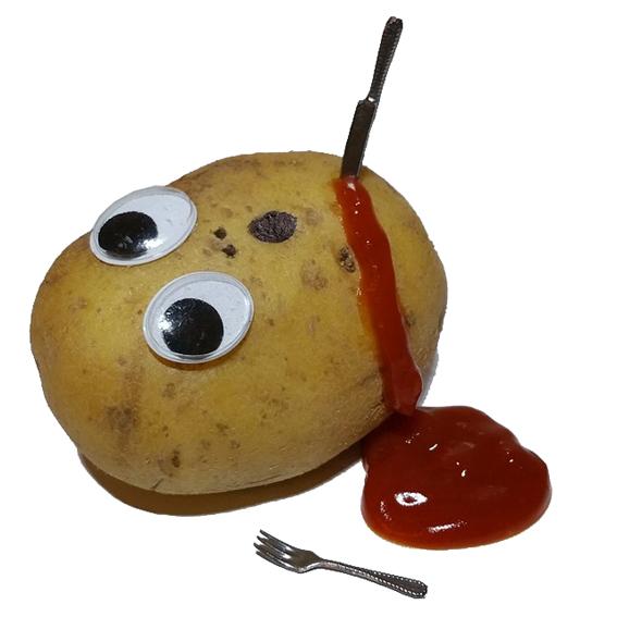 Ermordete Kartoffel