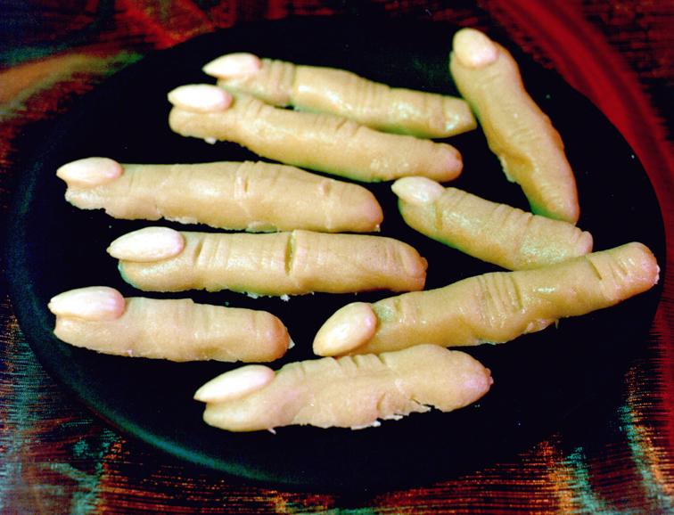 Leichenfinger als Snack