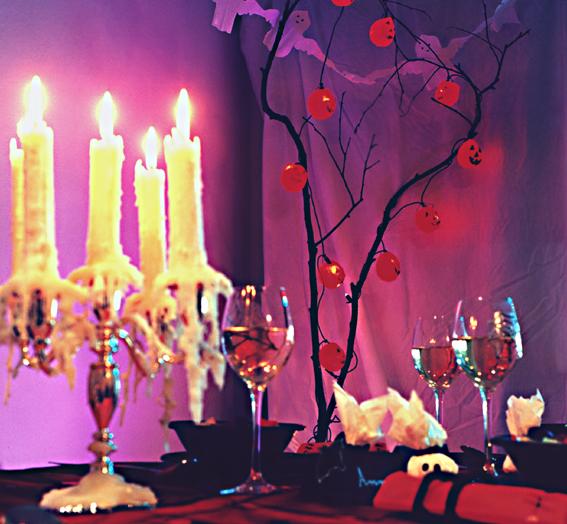 Halloween Kerzenleuchter