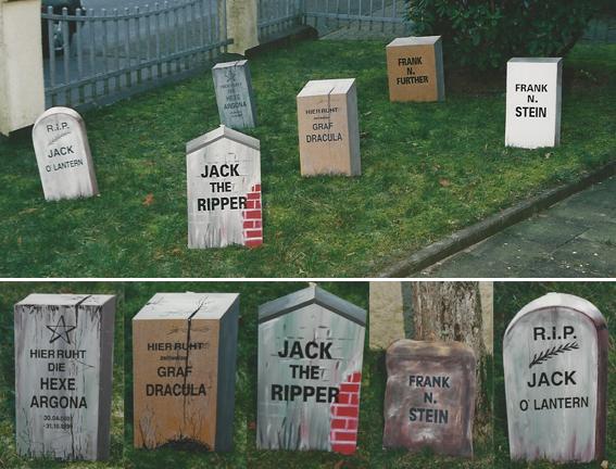 Halloween Friedhof