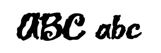 Jack Lantern Schrift