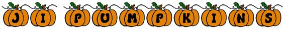 JI Pumpkins Font