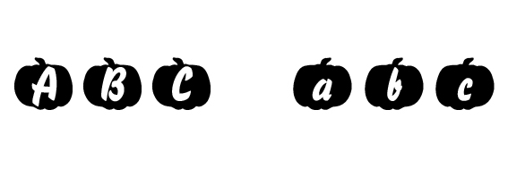 Pumpkinese Font