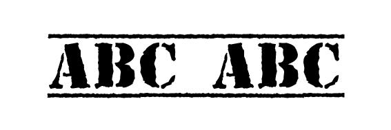 Top Secret KB Font
