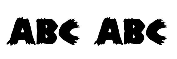 Zombie Font