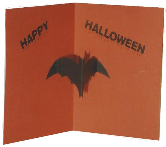 Halloween Einladungskarten selbst gemacht