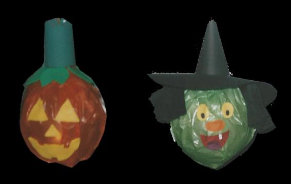 Halloweenlaternen