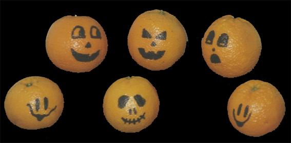 Orangen Jack O'Lanterns