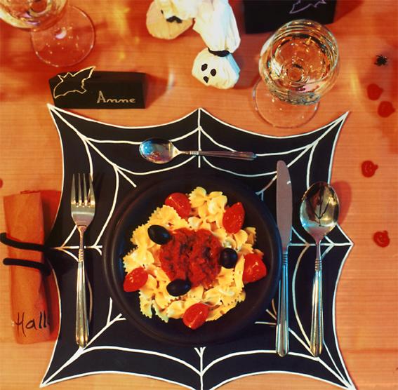 Halloween-Platzdecke