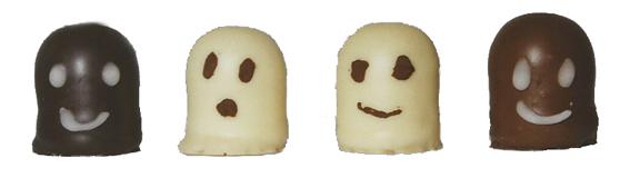 Schokokuss Geister